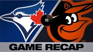 Grichuk's 9th-inning grand slam lifts Jays   Blue Jays-Orioles Game Highlights 9/18/19