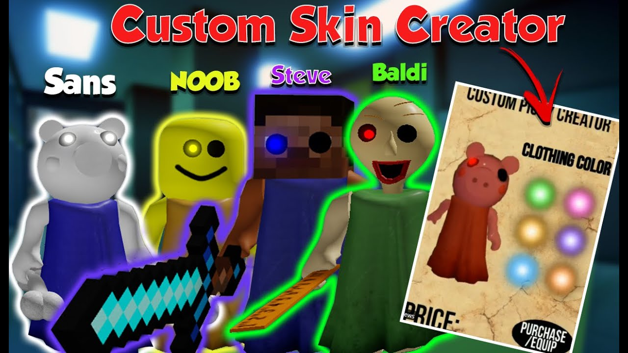 Roblox Piggy Chapter 10 Character Leaks New In Game Skin Customized Feature Youtube