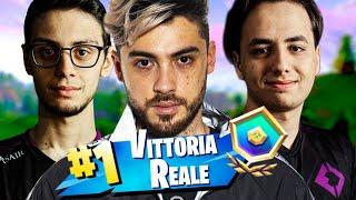 VITTORIA REALE in ARENA CUSTOM con REKINS e RAGEZ! FORTNITE ITA