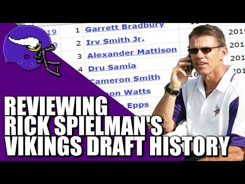 Reviewing Rick Spielman's Vikings Draft History