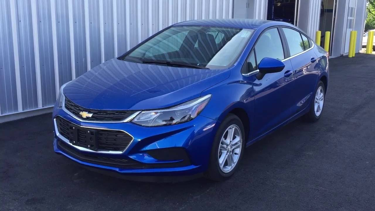 2016 chevrolet cruze 4dr sdn auto lt kinetic blue metalic. Black Bedroom Furniture Sets. Home Design Ideas