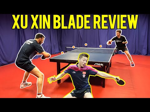 STIGA Dynasty Blade Review | Xu Xin Edition