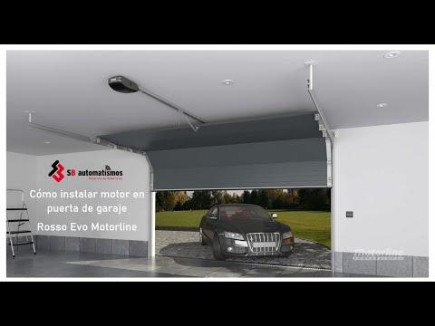 Como instalar motor a una puerta de garaje rosso evo de motorline youtube - Como instalar un motor de puerta de garaje ...