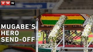 The late former President Robert Mugabe was given a national hero-style state funeral at the National Sports Stadium in Harare. Despite the empty seats, nothing was spared for the father of the nation.