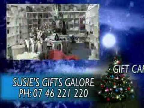SUSIE'S GIFTS GALORE XMAS COMMERCIAL 01
