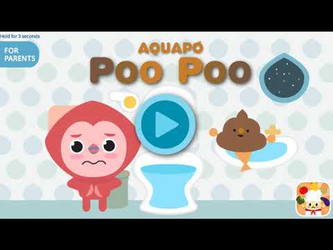 AQUAPO POO POO Toilet Training -...