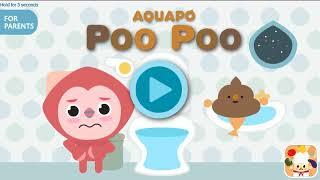 AQUAPO POO POO Toilet Training Educational Game for Kids