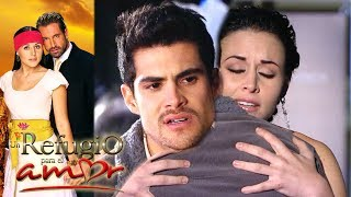 Un refugio para el amor - Capítulo 21: ¡Confunden a Lorenzo con el amante de Luciana! | Televisa