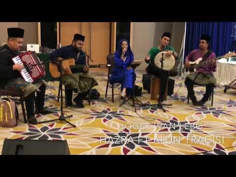Joget Wan Lebor - cover by Hazra 3 juara