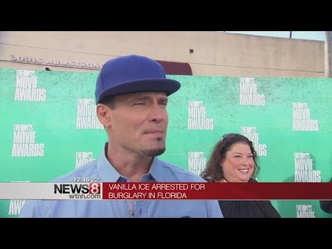 Rapper Vanilla Ice arrested for burglary in Florida