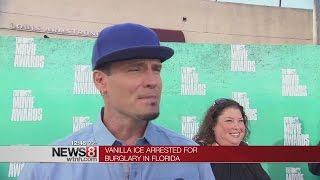 Rapper Vanilla Ice arrested for burglary in Florida