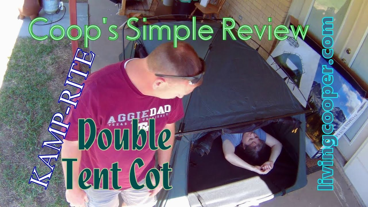 Coops Simple Review Kamp Rite Double Tent Cot
