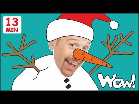 Snowman for Kids from Steve and Maggie + MORE Stories for Children | Speaking with Wow English TV