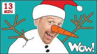 Snowman for Kids from Steve and Maggie + MORE Stories for Children   Speaking with Wow English TV