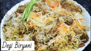 Delhi ki degi saadi biryani recipe quick and easy tasty recipe
