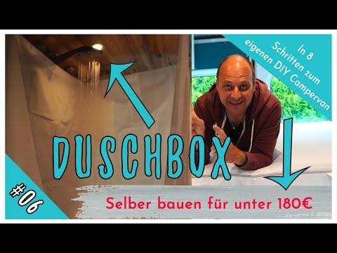 DIY Duschbox für den Camper unter 180€ selber bauen! (In 8 Schritten vom Kastenwagen zum DIY Camper)
