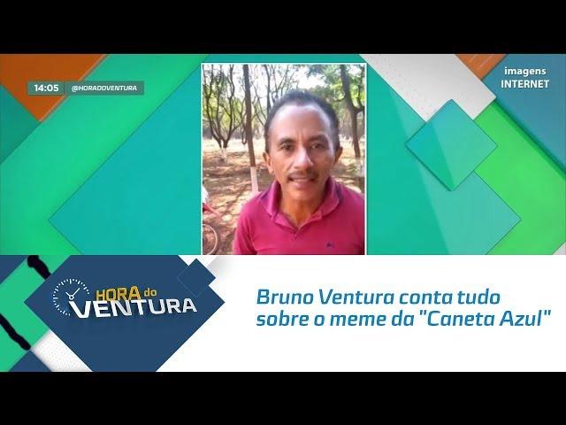 "Bruno Ventura conta tudo sobre o meme da ""Caneta Azul"" - Bloco 01"