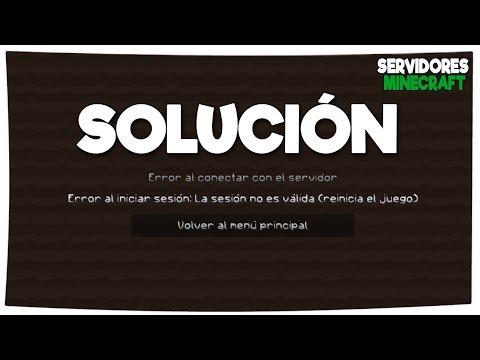 SOLUCIONAR ERROR BAD LOGIN / ERROR AL INICIAR SESIÓN | SERVIDORES MINECRAFT