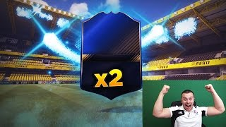 FIFA 17 OMG 2 TOTY PLAYERS IN A PACK OPENING w/ WALKOUT PLAYERS - MY BEST EVER PACKS OF FIFA 17