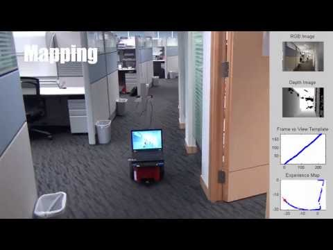 Cognitive Mapping and Navigation for Mobile Robot