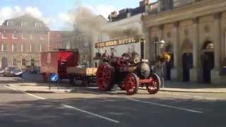 Steam Engine in Devizes, Wiltshire