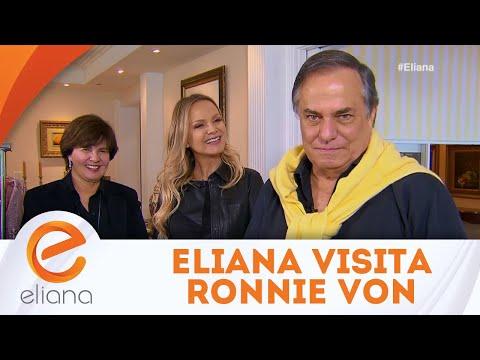Eliana visita Ronnie Von - Completo | Programa Eliana (08/07/18)