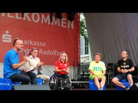 Giganica auf dem Stadtfest Singen 2014 auf der SÜDKURIER Bühne