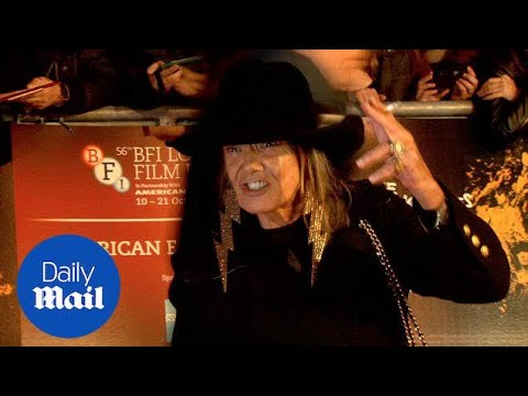 Anita Pallenberg at Crossfire Hurricane premiere in 2012  Daily Mail