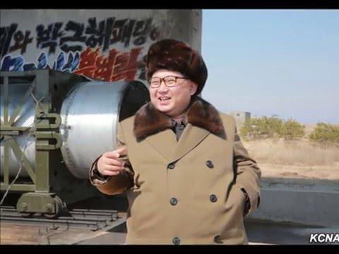Kim Jong Un Guides Test of Solid-fuel Rocket Engine