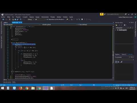 Imagen Bitmap En Una Matriz En Visual C++ - OpenGl