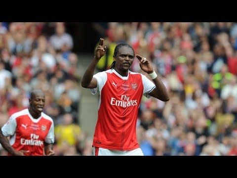 Nwankwo Kanu Legendary Skills | Kanu Goals | How Kanu Round Goal Keepers