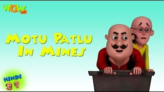 Motu Patlu In Mines - Motu Patlu in Hindi WITH ENGLISH, SPANISH & FRENCH SUBTITLES
