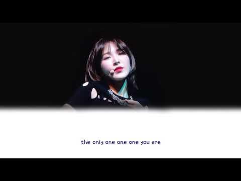Red Velvet Wendy (웬디) - What If Love 가사/Lyrics