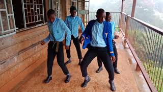 Kangema High School KDF DANCE CHALLENGE