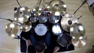 toto Africa live drum cover Gopro