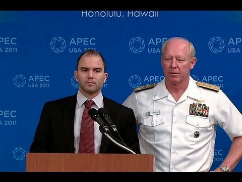 Press Briefing with Ben Rhodes and Admiral Robert Willard