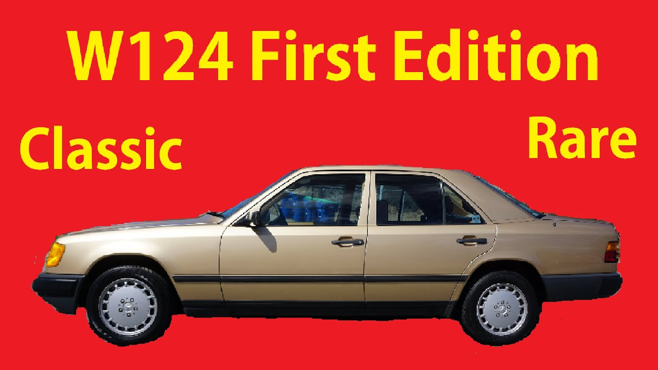 Mercedes Benz 300E W124 300 E- Class Test Drive Video Review