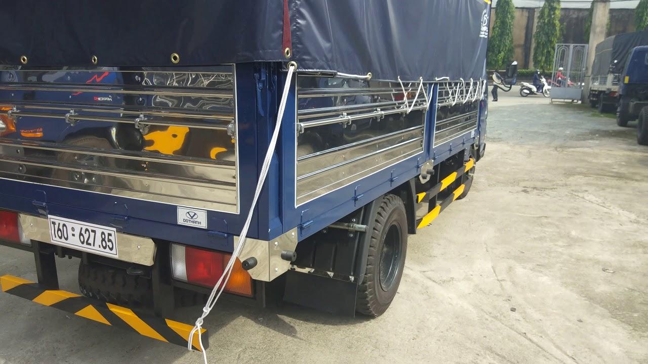 Xe tải Đô Thành IZ49 2.4 tấn động cơ Euro4 2018/ Hotline tư vấn bán hàng 0966694414 - YouTube
