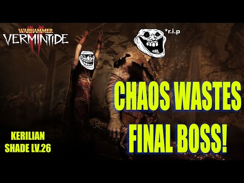 WARHAMMER VERMINTIDE 2 Chaos Wastes Ending and Final Boss |