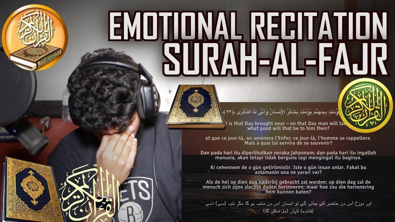 SURAH AL FAJR - EXTREMELY POWERFUL - سورة الفجر - كاملة | Omar Hisham Al Arabi | (Quran REACTION)
