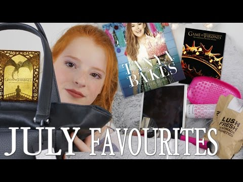 July Favourites, Tanya Bakes Book, Game of Thrones, Makeup, Paperchase Haul | NiliPOD