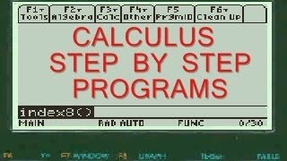 derivative of ln x   ln cos 5x   ti 89 titanium program app   calculus   step by step
