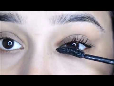 How To Apply Mascara For Very Thick Lashes