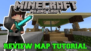 REVIEW! Map Tutorial Majing Craft