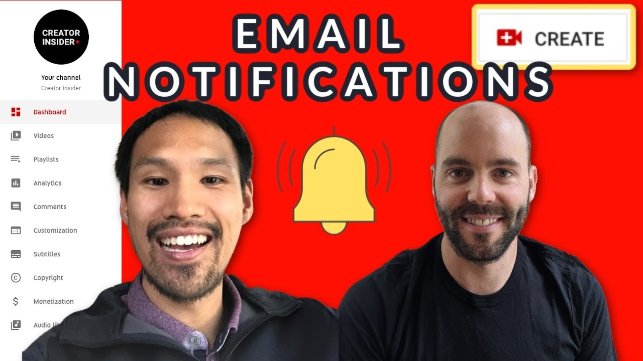 Updates to Email Notifications on YouTube