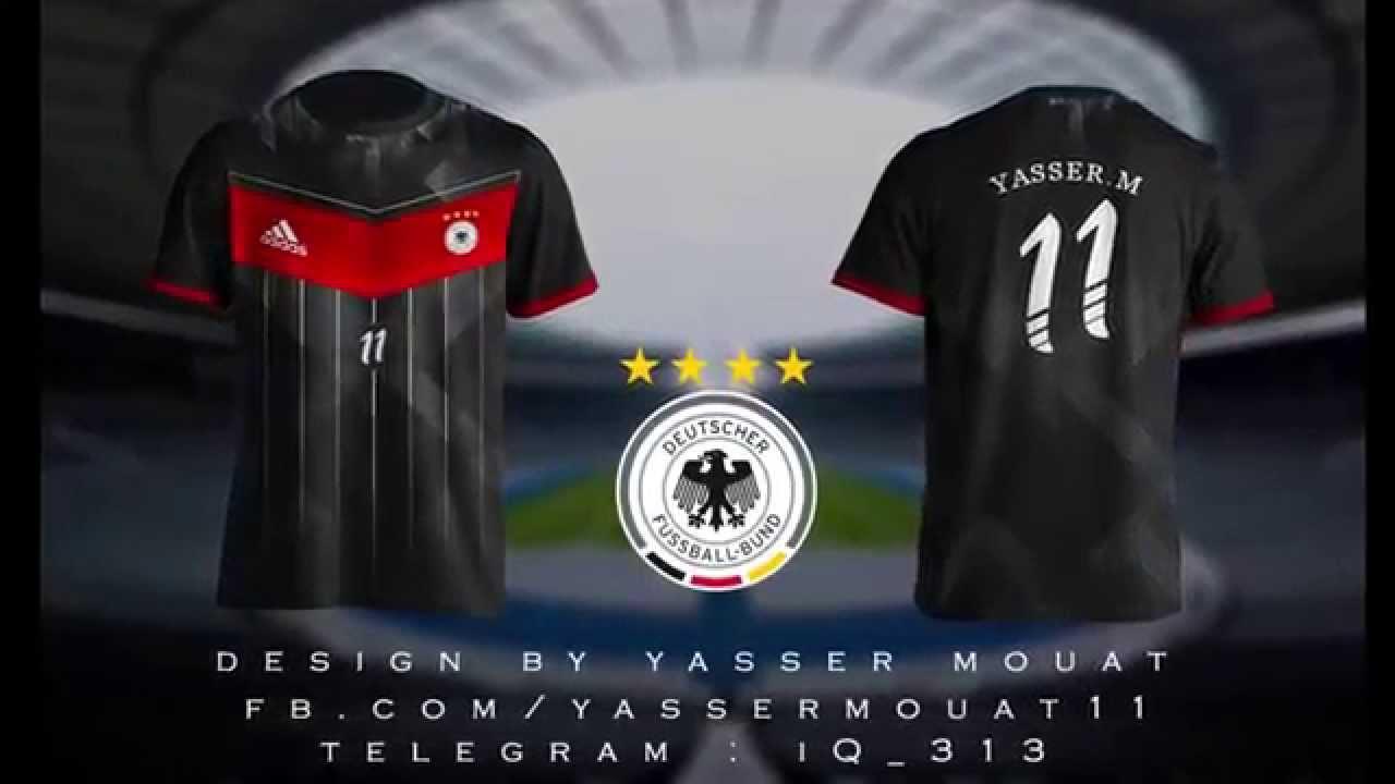 c1413b9fb Germany Kit Rebrand by Yasser Mouat speed art ( photoshop) - YouTube
