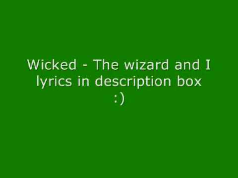 wicked-the-wizard-and-i-radicalkaraokes