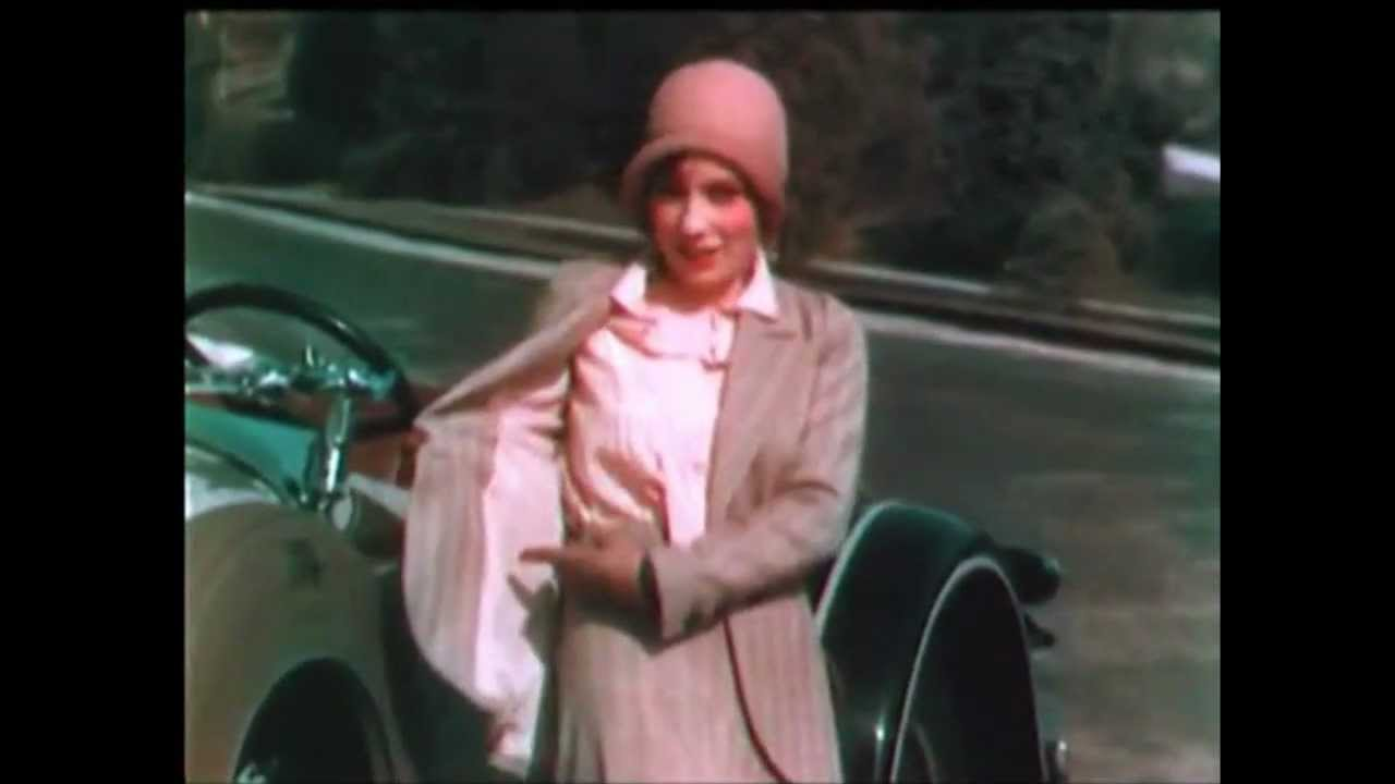 1930 fashion revue color film youtube