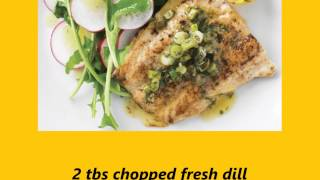 Recipe Whiting With Lemon Dill Sauce