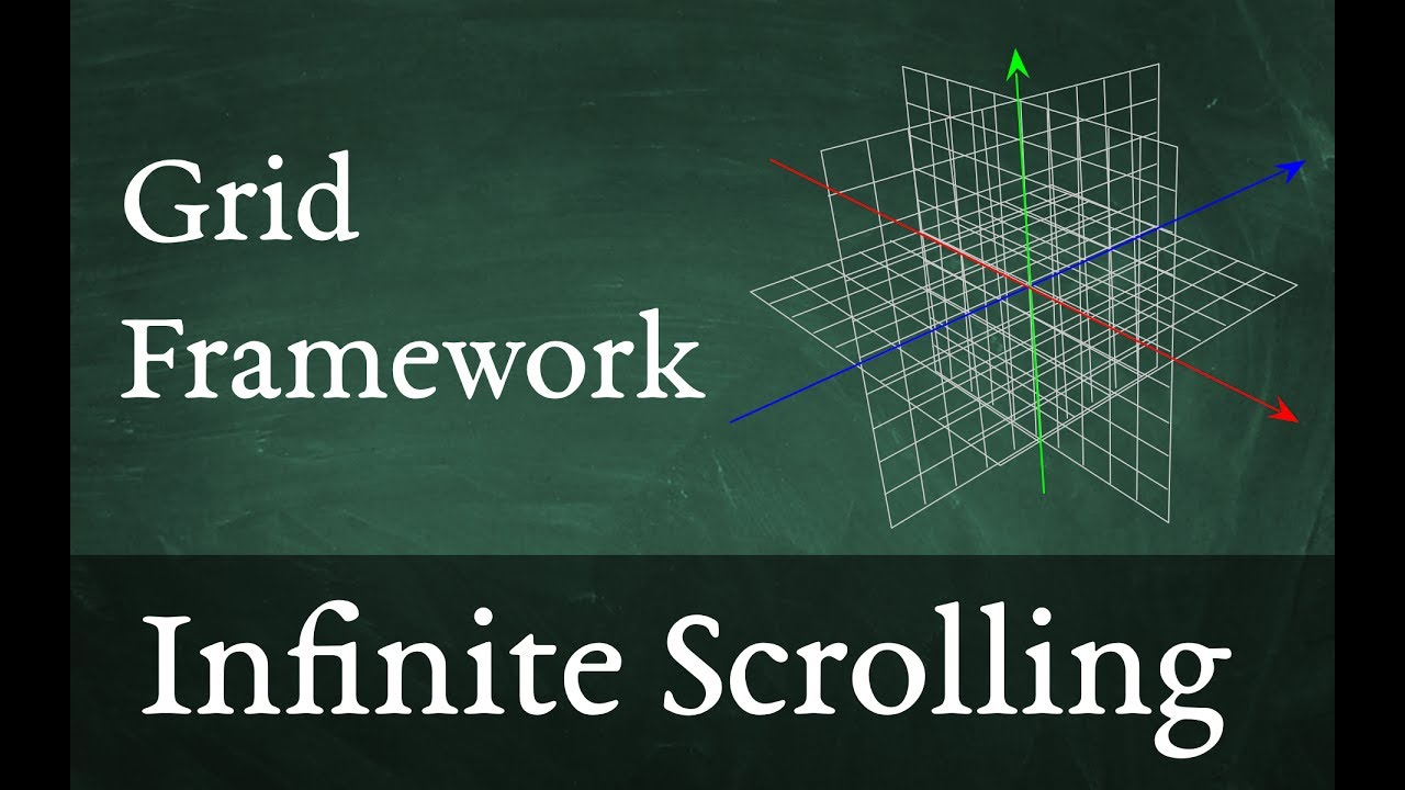 Infinitely scrolling grid in Unity 3D with Grid Framework